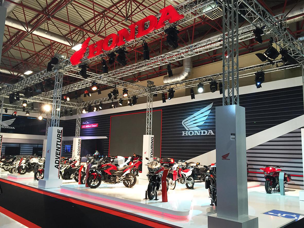 Honda Eurasia Moto Bike Expo 2015